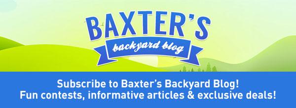 Baxter's Backyard Blog
