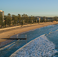 Iconic Manly Beach location