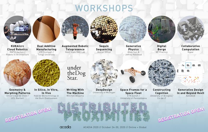 Acadia 2020 workshops website reg
