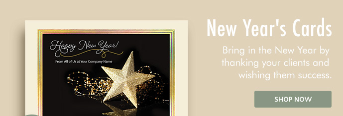 50% & $75 off New Year's Cards