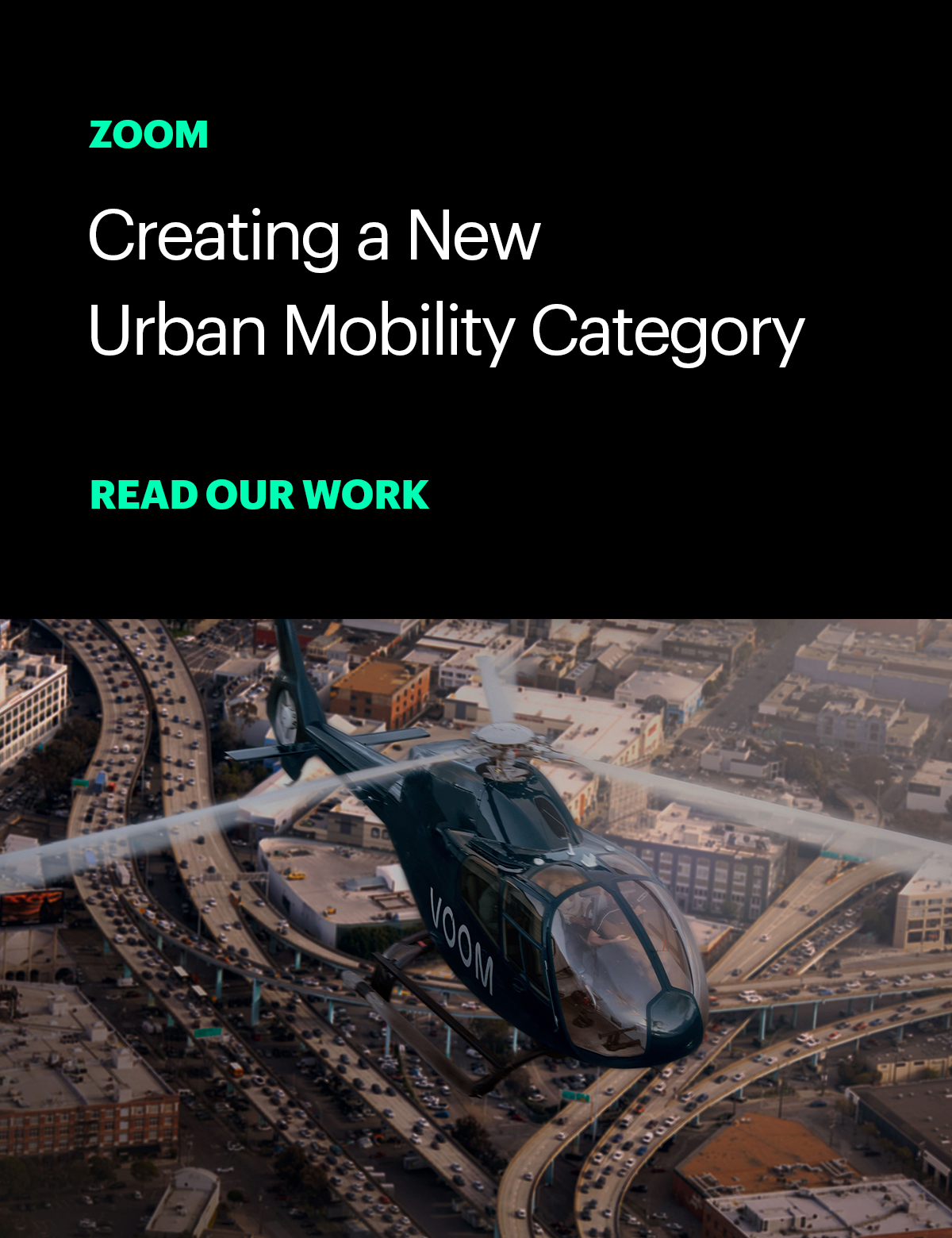Zoom: Creating a new urban mobility category