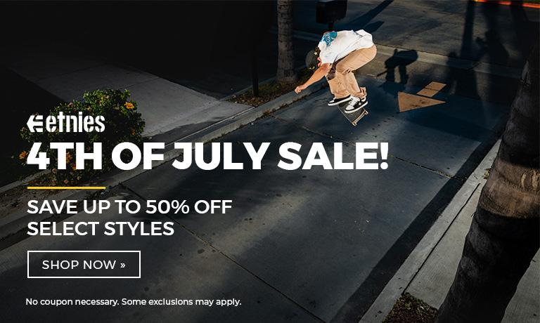 etnies 4th of July Sale