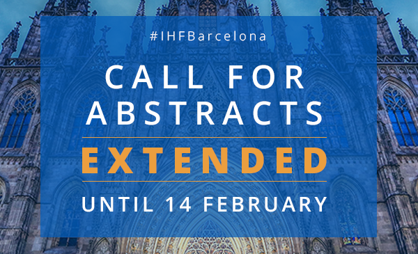 44th World Hospital Congress CALL FOR ABSTRACTS extended until 14 February, 2020