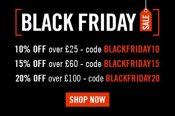 BLACKFRIDAY10 - 10% off orders over ?25  BLACKFRIDAY15 - 15% off orders over ?60  BLACKFRIDAY20 - 20% off orders over ?100
