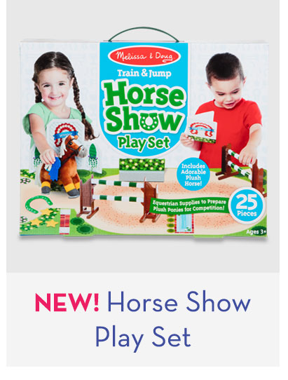 NEW! Horse Show Play Set