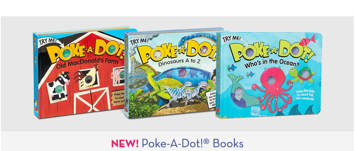 NEW! Poke-A-Dot Books