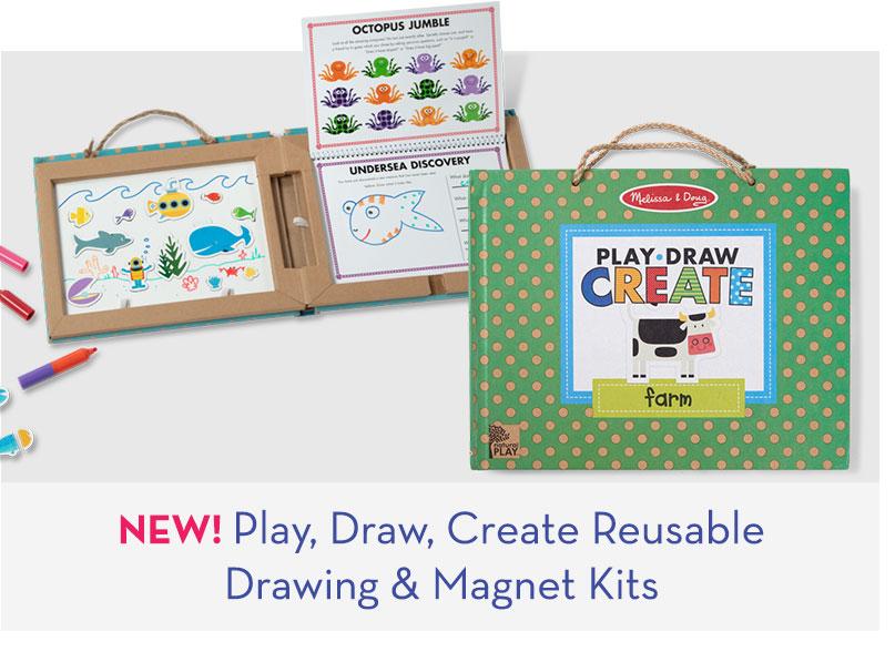 NEW! Play, Draw, Create