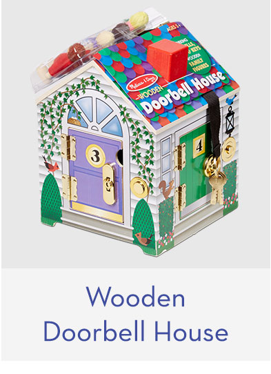 Wooden Doorbell House