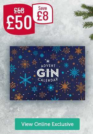 Was � Now � Save �Gin Advent Calendar View Online Exclusive
