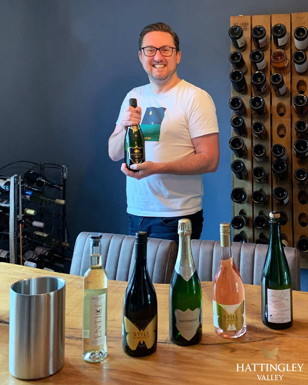 Hattingley Valley Wine for a year competition winner