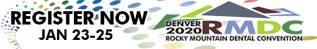 Register Here for the 2020 Rocky Mountain Dental Convention