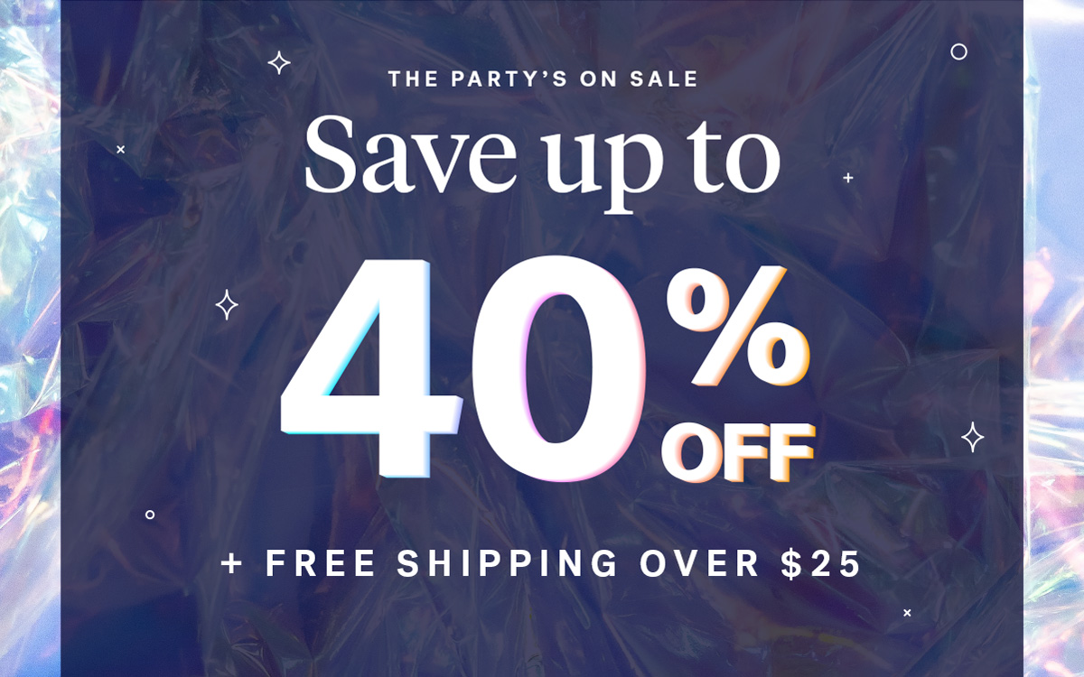 The Party's On Sale