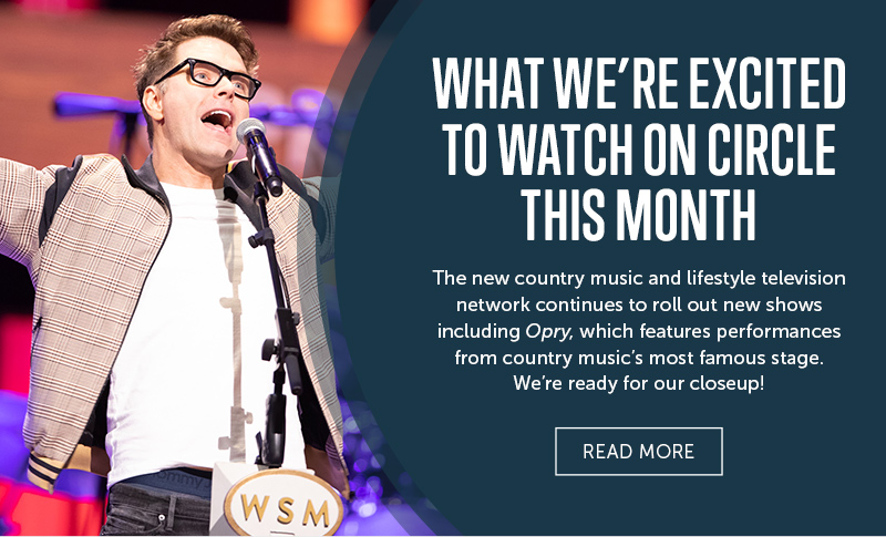 The Grand Ole Opry is returning to television every Wednesday night