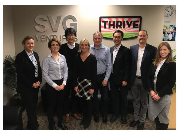 SVG Ventures announces Kubota Corporation joins the THRIVE Venture and Innovation Platform