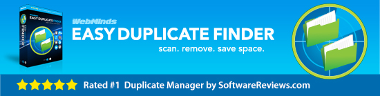 Easy Duplicate Finder Managing duplicate files made simple