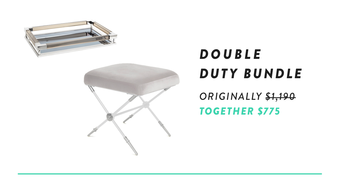 Rider x-Bench with Jacques Tray Bundle | Shop Now