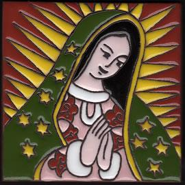 Isabella Tile � Virgin of Guadalupe