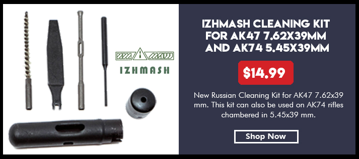 IZHMASH Cleaning Kit for AK47 7.62x39mm and AK74 5.45x39mm