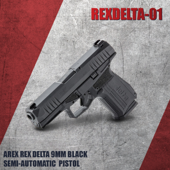 Arex Rex Delta 9mm Pistol With 15- and 17-Round Magazines
