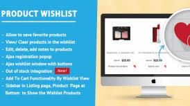 Virtuemart Product Wishlist Extension