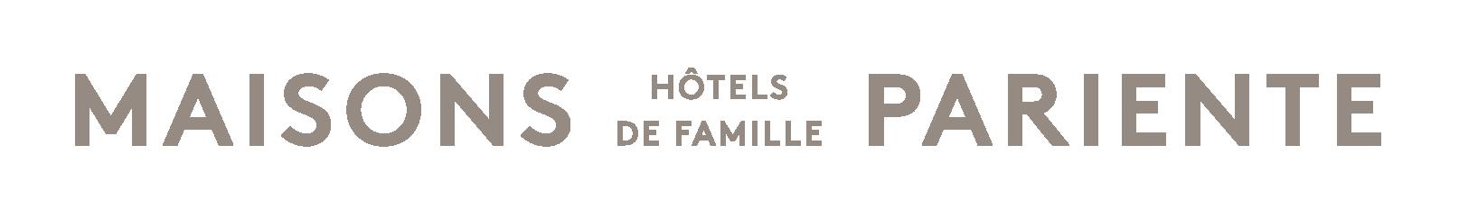 Logo Maisons Pariente