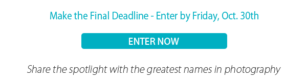 Make the Final Deadline - Enter by Friday, Oct. 30th