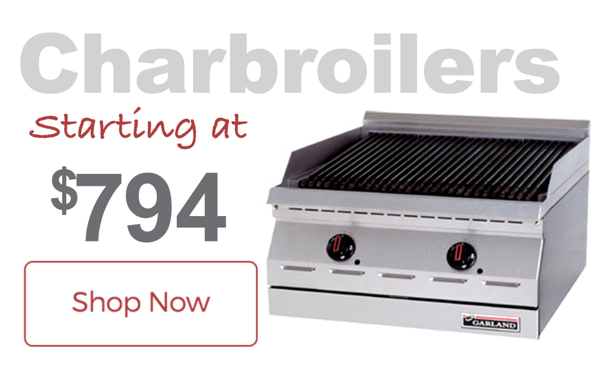 Garland Charbroilers now with Free Shipping!