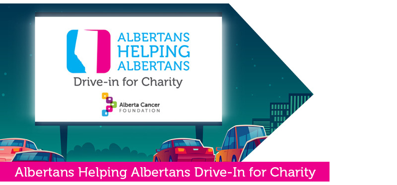 Albertans Helping Albertans Drive-in for Charity