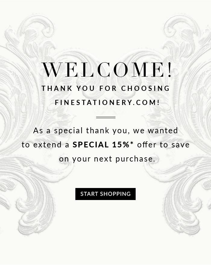 Thank You For Choosing FineStationery.com
