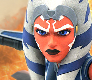 Animated Ahsoka Bust