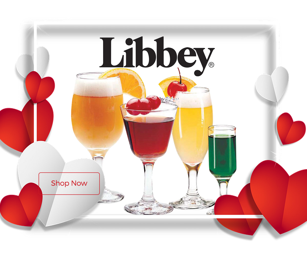 Libbey now 10% off for a limited time only!