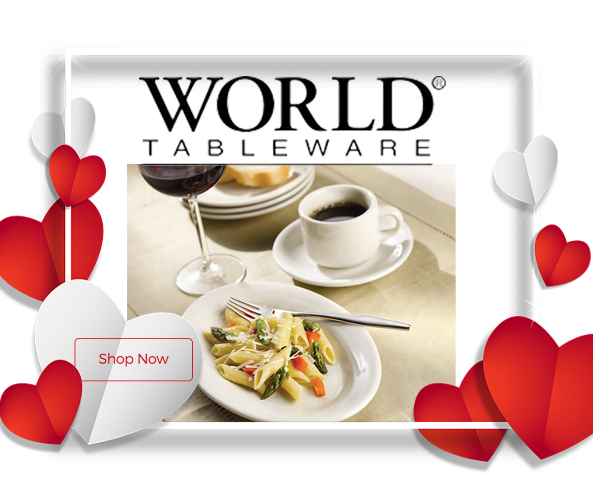 World Tableware now 10% off for a limited time only!