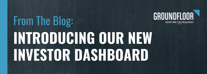 Introducing Our New Investor Dashboard