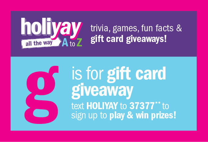 Holiyay all the way a to z