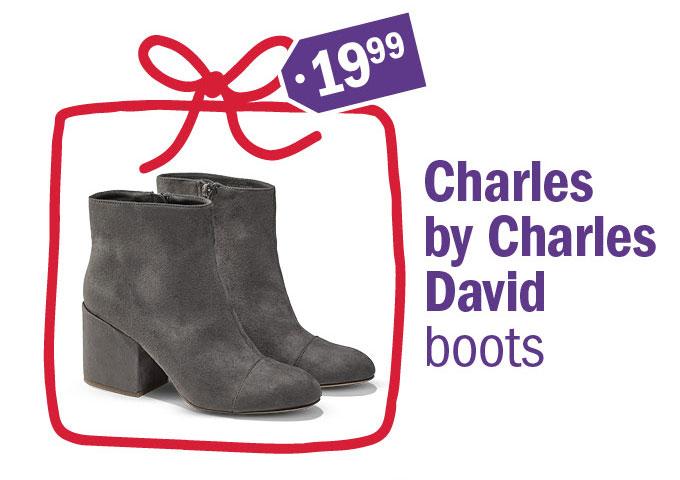 19 99 charles by Charles David boots