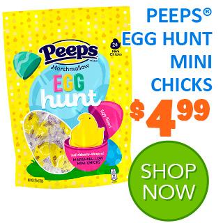 NEW for 2020 - PEEPS EGG HUNT MINI CHICKS