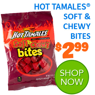 NEW for 2020 - HOT TAMALES SOFT & CHEWY BITES