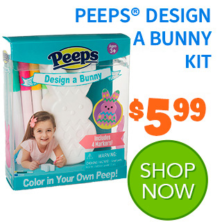 PEEPS Design a bunny project kit