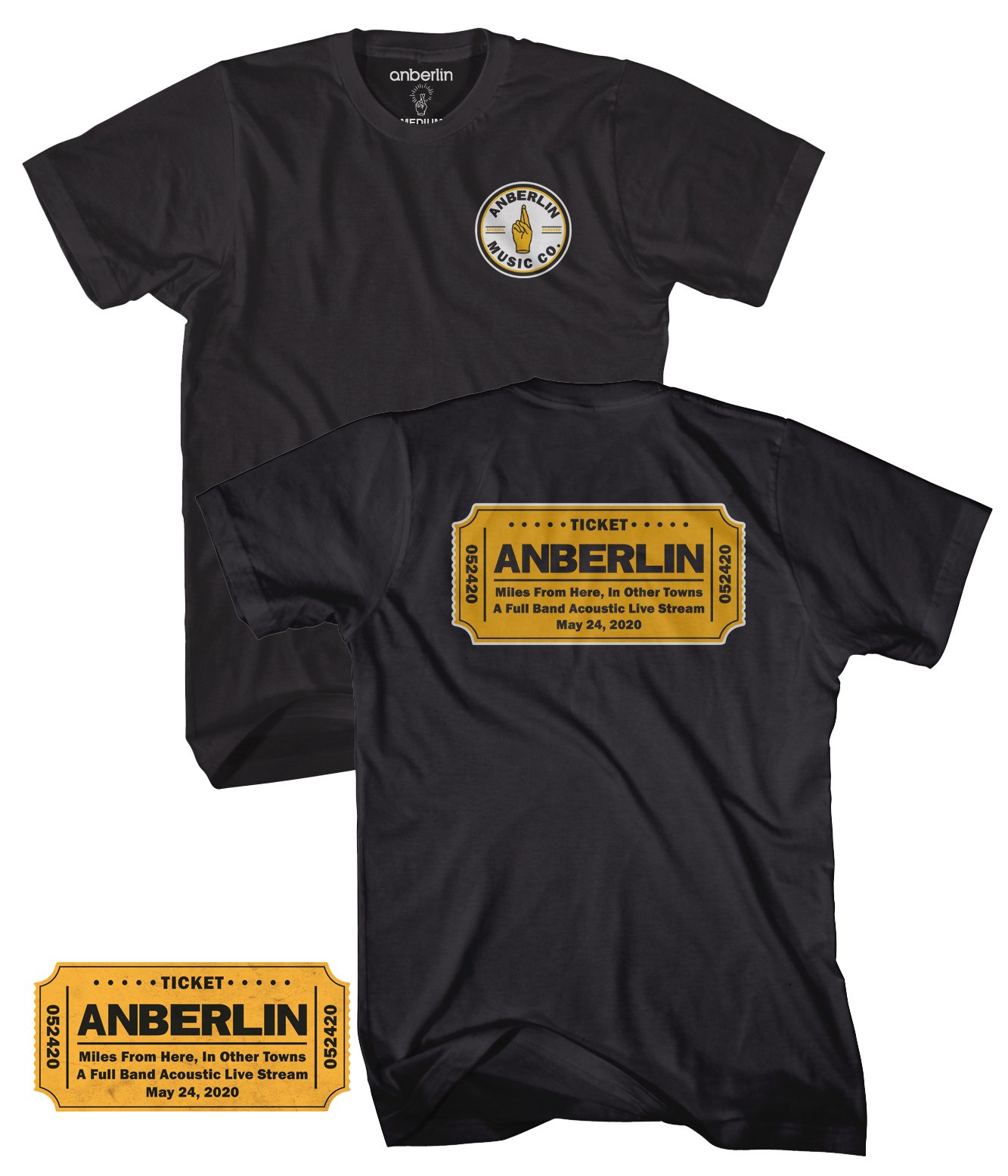 Anberlin Miles From Here In Other Towns - Live Stream Bundle #1
