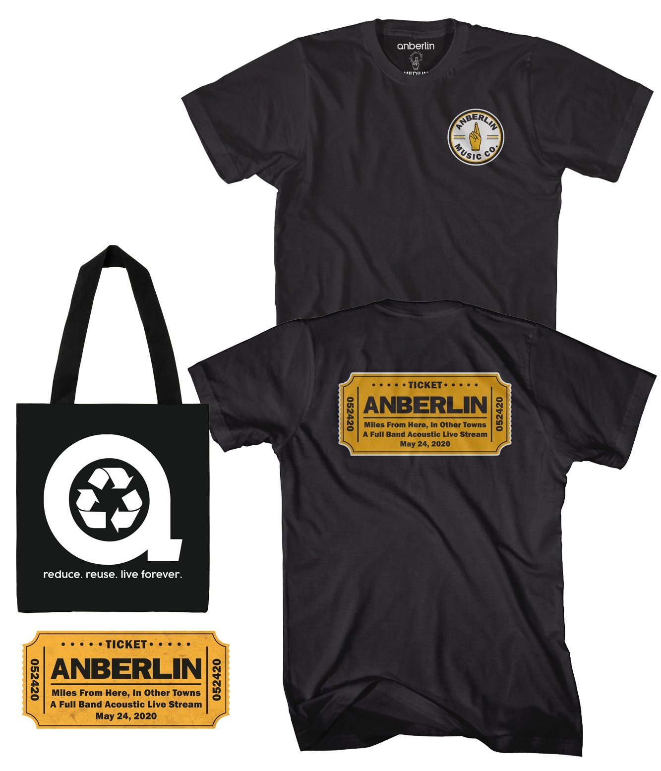 Anberlin Miles From Here In Other Towns - Live Stream Bundle #5
