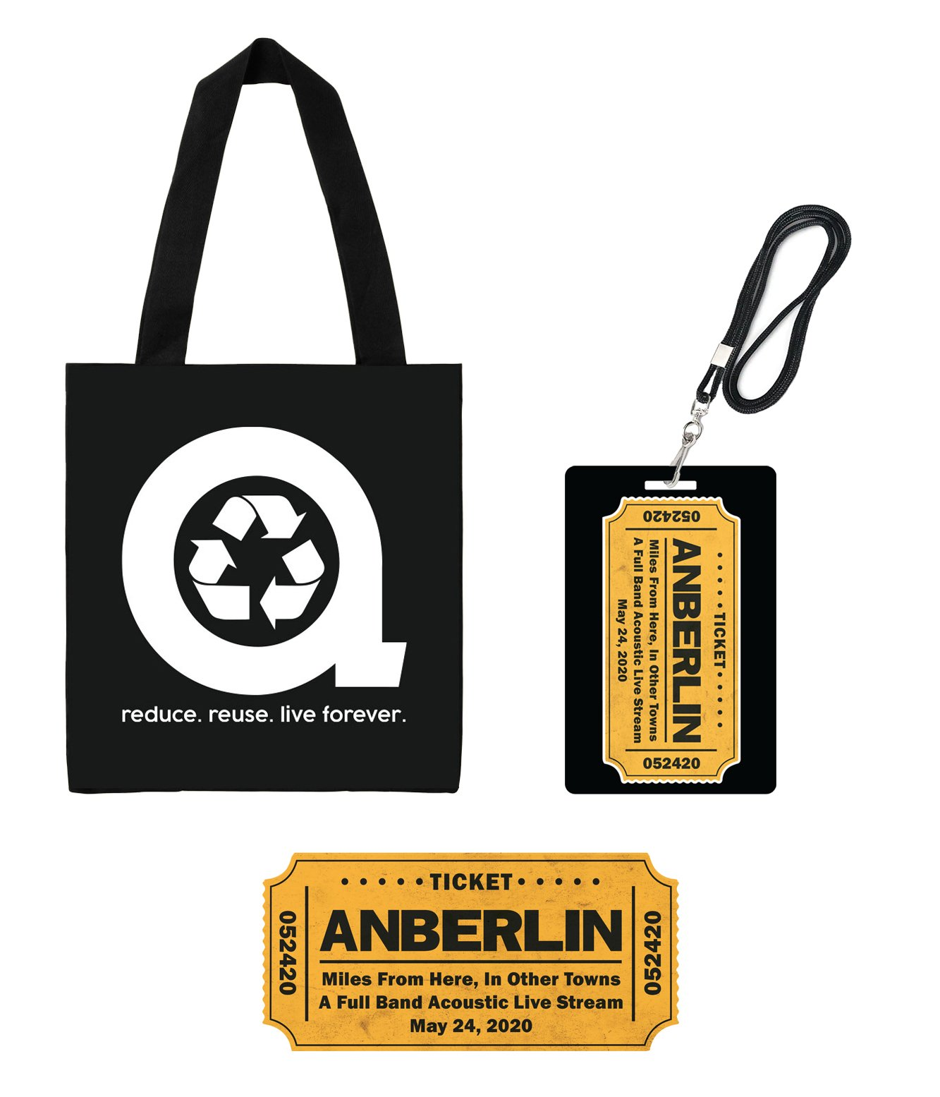 Anberlin Miles From Here In Other Towns - Live Stream Bundle #6