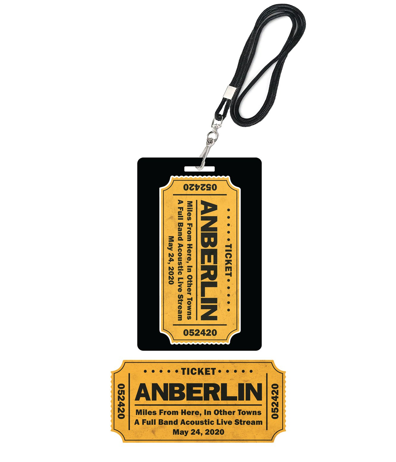 Anberlin Miles From Here In Other Towns - Live Stream Bundle #2
