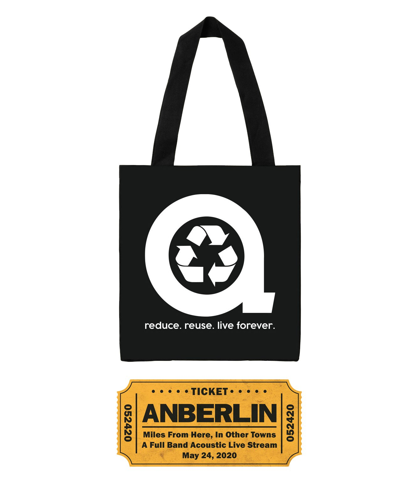 Anberlin Miles From Here In Other Towns - Live Stream Bundle #3