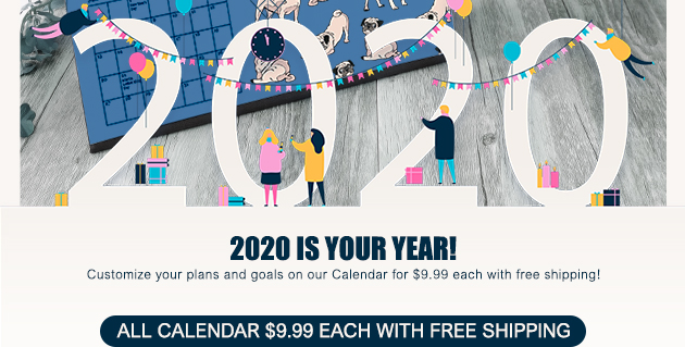 All calendars $9.99 each with free shipping!