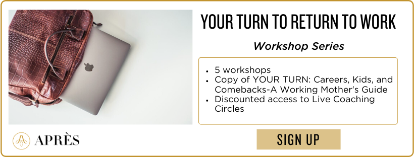 Your Turn to Return to Work Workshop Series
