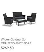 Wicker Outdoor Set