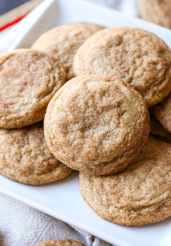 Perfect Snickerdoodle Cookies