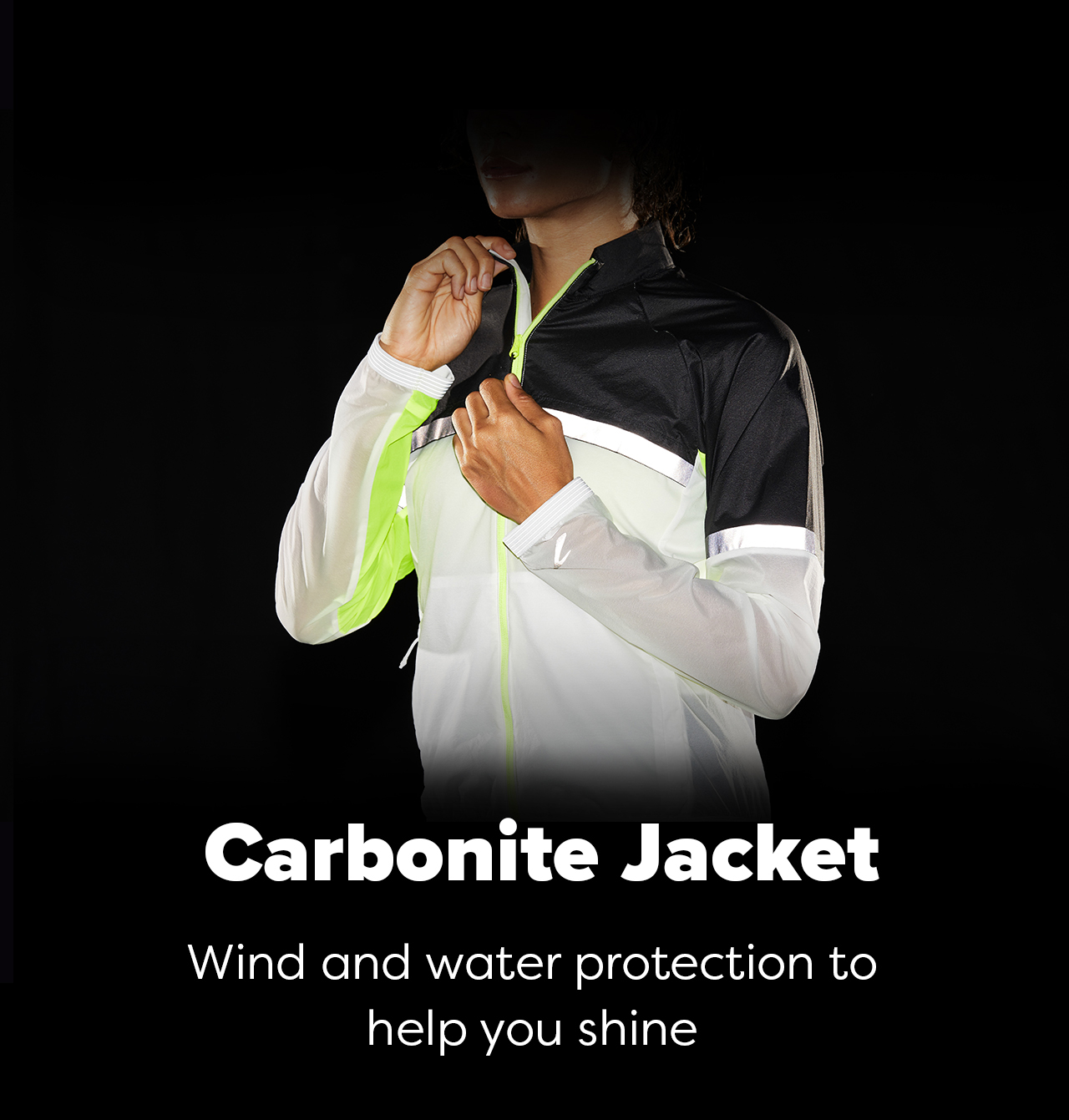Carbonite Jacket - Wind and water protection to help you shine