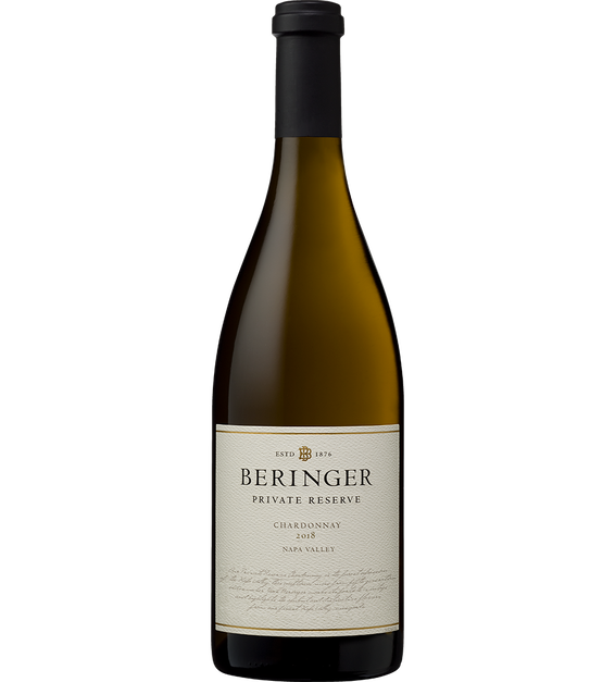 Bottle Shot: 2018 Private Reserve Chardonnay