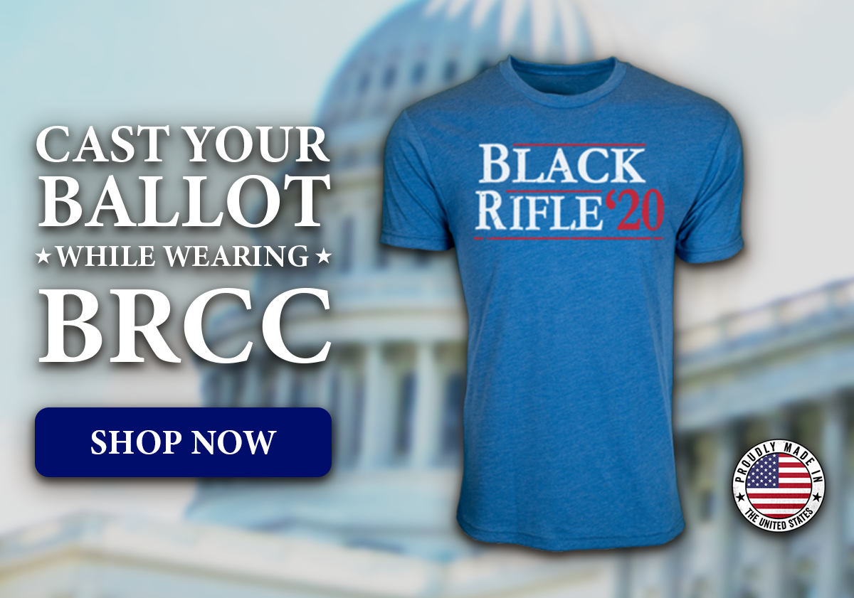 Cast Your Ballot While Wearing BRCC, Shop Vote Coffee Shirt